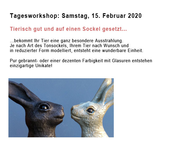 Tagesworkshop: Tierisch gut