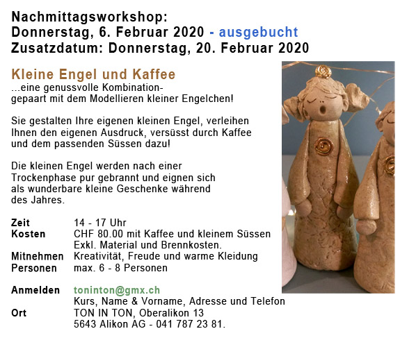 Nachmittagsworkshop